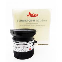 Leica Summicron-M 35mm f/2 v.4 Silver (7 elements)
