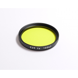 Leica E39 Yellow Filter (13062)
