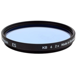 Heliopan 39mm KB6 Cooling Color Conversion Glass Filter