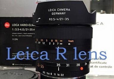 Leica R lens